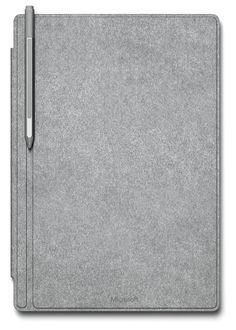 Microsoft Surface Pro 4 with grey signature type cover