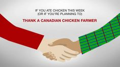 Canadian Chicken: A good choice for Canada. A Good choice for Canadians.