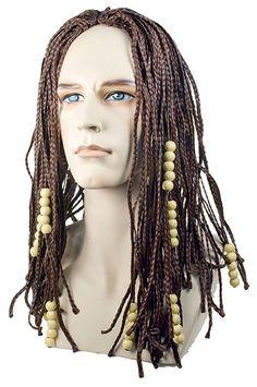 Tightly Braided Dread Look Style Brown Men's Wigs Super Hero Costumes, Girl Costumes, Avatar Costumes, Dreadlock Wig, Wilshire Wigs, Fantasy Female Warrior, Halloween Costume Accessories, Halloween Costumes, Braids Wig