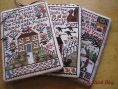 prairie schooler months. Cross Stitch DesignsStitch ...