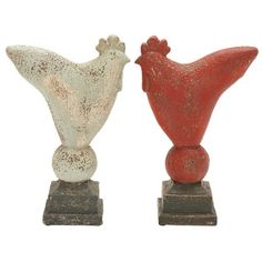 Simple Rooster Assorted Figurine