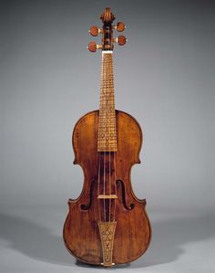Violin Maker: Nicolò Amati (Cremona 1596–1684 Cremona) Date: 1669 Geography: Cremona, Italy Culture: Italian (Cremona) Medium: Spruce, maple, other woods Dimensions: Body length (belly): 35 cm (13-13/16 in.); Upper bouts: 16.1 cm (6-5/16 in.); Middle bouts: 11.0 cm (4-5/16 in.); Lower bouts: 20.1 cm (7-15/16 in.)