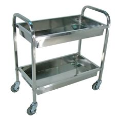 """Stainless Steel Tub Cart $193   17"""" depth and 35"""" high"""