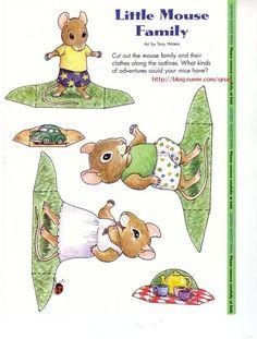 종이인형 (쥐) : 네이버 블로그
