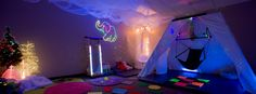 Sensory room via Sara's Garden Pinned by @Gail Zahtz