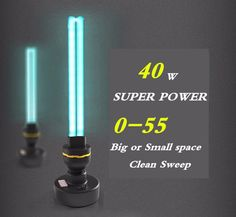40 W Ozon UV lampu Desinfeksi Lampu UV Ultraviolet Lampu Kuman Rumah Tangga 0-55 sq. m. sterilisasi lampu