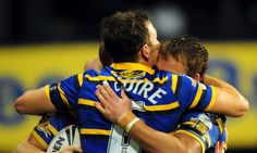 Leeds Rhinos put their shirt on Twitter in attempt to increase club's exposure Rugby League, Rugby Players, Ryan Bailey, Leeds Rhinos, League Gaming, Stunts, Make You Smile, Campaign, Names