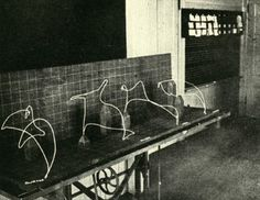 First light paintings - Frank et Lilian Gilbreth -1914