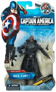 Marvel Legends Capitán América The First Avenger Serie de acción de 6 pulgadas Serie exclusiva - Nick Fury