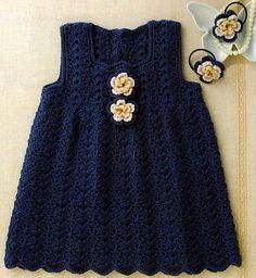ideas crochet baby jumper pattern sweets for 2019 Crochet Girls, Crochet Baby Clothes, Crochet For Kids, Simple Crochet, Vestido Jumper, Jumper Dress, Baby Jumper, Pink Rose Croche, Crochet Jumper