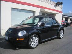 2010 Volkswagen New Beetle black convertible http://www.iseecars.com/used-cars/used-volkswagen-new-beetle-for-sale