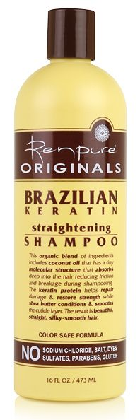 Our new Brazilian Keratin Straightening line has a blend of Coconut Oil & Shea Butter, whose molecular properties absorb deep into the hair cuticle, cleaning & removing impurities, helping repair damage & restoring strength, as it conditions & smooths for healthy beautiful hair. For only $5.99