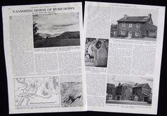 BLACK HORSE BUSH HOWE INN SEDBERGH CAPPLETHWAITE HALL CUMBRIA PHOTO ARTICLE 1975 | eBay