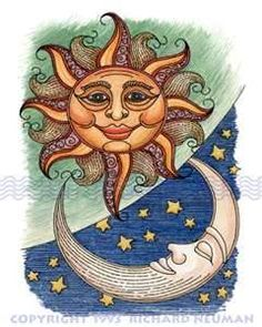 sun moon stars - Bing Images