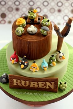 another fab idea for angry birds cake