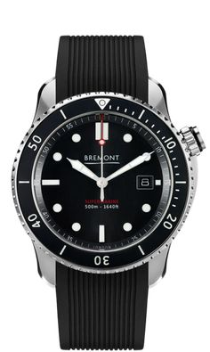 Bremont S500 Bk 18 Watch Front View Watches a320b8bea25