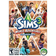 Sims 3: World Adventures Expansion Pak (PC)