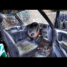 #abandoned #car #photography #hdr #arthakker, via Flickr.
