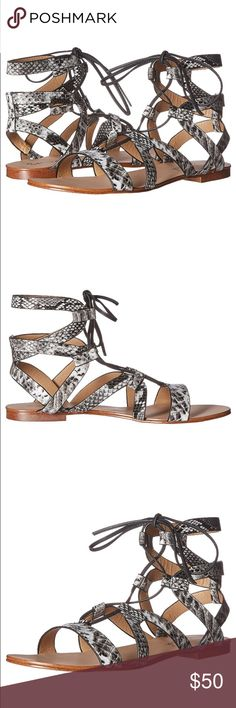 """Splendid gladiator sandals 100% Leather Synthetic sole Shaft measures approximately 6"""" from arch Adjustable strap // New with box // 011021650 // Splendid Shoes"""