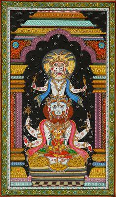 Puri trias with Jagannatha in Nrisimha form