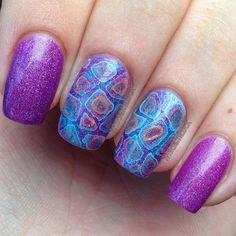 water drop nail art