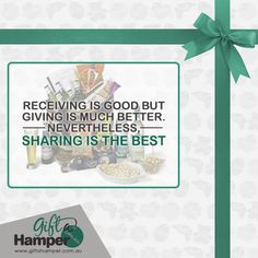 Giving opens the way for receiving Love Gifts, Unique Gifts, Best Gifts, Christmas Hampers Australia, Xmas Hampers, Gift Of Time, Present Gift, Great Christmas Gifts, Corporate Gifts