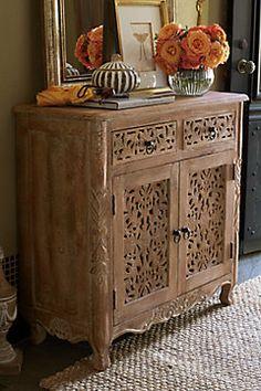 Majorelle Carved Cabinet