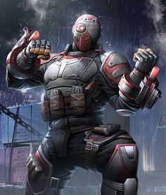 Deadshot from Injustice 2 Mobile Deadshot 5 Batgirl, Catwoman, Injustice 2 Characters, Dc Characters, Harley Quinn, Dc Injustice, Teen Titans Starfire, Robin, Arte Dc Comics