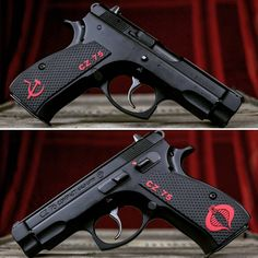 LOK Grips makes custom 1911 grips and grips for many other handguns! Weapons Guns, Guns And Ammo, Cz 75, Shooting Guns, Custom Guns, Fire Powers, Home Defense, Cool Guns, Shotgun