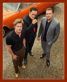 Hollywood Discover Three Kings: Quentin Brad and Leo Take You Inside Once Upon a Time.In Hollywood Director Quentin Tarantino and his headlining stars Brad Pitt and Leonardo DiCaprio get together for their first conversation since wrapping the movie. Quentin Tarantino, Tarantino Films, Burt Reynolds, Luke Perry, Pulp Fiction, Fritz Lang, Charles Manson, Kino Film, Kris Kristofferson