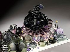 Seemingly impossible, delicate glass sculptures by Carmen Lozar