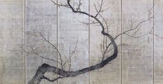 The art of Rimpa Zen Painting, Japanese Painting, Chinese Painting, Japanese Wall, Japanese Screen, Chinoiserie, Hand Painted Wallpaper, Art Japonais, China Art