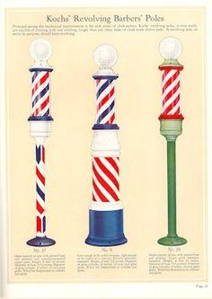 1929 Kochs Barber Shop & Beauty Shop Fixtures, Catalog No. Barber Shop Pole, Barber Sign, Barber Shop Quartet, Musical Hair, Master Barber, Barber Supplies, Barber Chair, Lost Art, Miniture Things