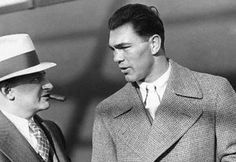 """""""Tall men come down to my height when I hit 'em in the body.""""  — Jack Dempsey"""