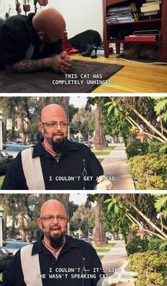 39 cat from hell 39 star jackson galaxy weds at pet sanctuary for Jackson cat whisperer