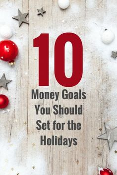 10 Money Goals You Should Set for the Holidays | Personal Finance Hacks | Expert Budgeting Tips | #finance #personalfinance #financetips #budegting #moneytips #moneyhacks
