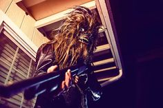 Photographer Captures The Daily Lives Of Wookiees Life Pictures, Werewolf, Barbie, Logo Design, Dreadlocks, Neon, Hair Styles, Beauty, Real Life