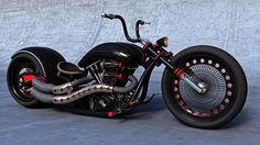 Black chopper !!!