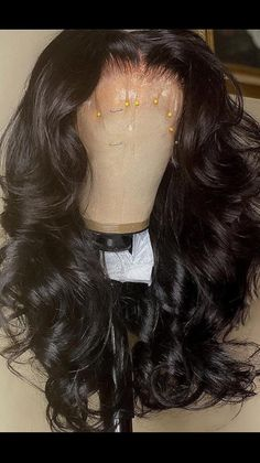 Black Hairstyles With Weave, Sew In Hairstyles, Pretty Hairstyles, Natural Hair Wigs, Natural Hair Styles, Long Hair Styles, Light Skin Black Girls, Reverse Ombre Hair, Black Hair Wigs