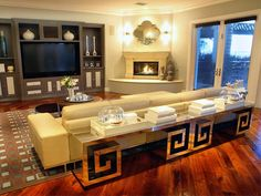 The sofa is exactly what I want in my living area with dark wood floors and blues beiges and taupes.