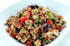 Steve's favorite: Quinoa Salad with Cucumbers and Feta   Tasty Kitchen: A Happy Recipe Community!
