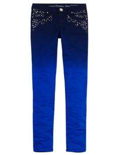 Dip Dye Super Skinny Jeans- justice for alia for hannukah