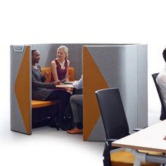 Haven Pods give the open plan office privacy within the workplace.