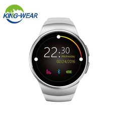 New Smart Watch Phone Screen IPS LCD 240X240 Bluetooth 4.0 Anti-lost Alert Remote Camera Heart Rate Monitor Watches KW18