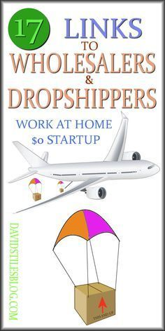 17 LINKS TO DROPSHIPPERS AND AFFILIATE COMPANIES - MAKE MONEY FROM HOME. #wholesalers, #dropshippers From: http://DavidStilesBlog.com