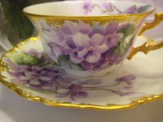 Antique Limoges tea cup