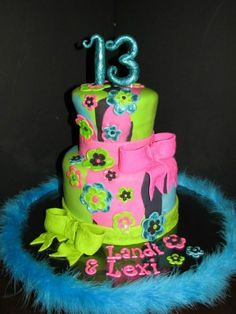 cake designs for a 13 year old girl | ... Ideas of Birthday Cake for Young Guys : Birthday Cake 13 Year Old Boy