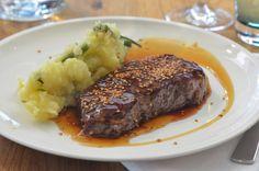Ein leckeres Steak in Teriyaki Sauce