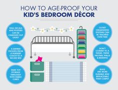 Your kid's bedroomdecor can have some staying power long past the diaper stage, if you know where to focus your efforts.