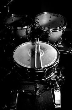 Drum Low Key by Ryan Krafthefer, via Flickr Low Key, Drums Wallpaper, Trommler, Drum Tattoo, Drum Music, Drum Lessons, How To Play Drums, Music Aesthetic, Black And White Aesthetic